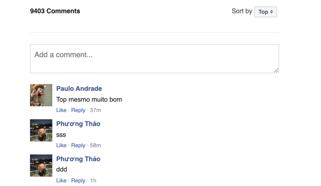 preserve facebook comments when changing URLs
